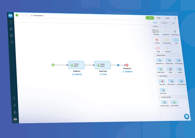Mendix Screenshot